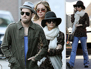 Photos of Nicole Richie And Joel Madden Shopping in LA 2009-12-23 07:45:00