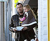 Slide Photo of Ben Affleck with Violet in LA
