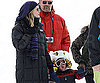 Slide Photo of Heidi Klum with Johan Samuel in Aspen
