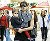 Slide Photo of Jessica Alba at The Grove with Honor Warren