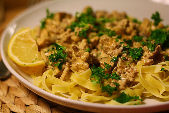 Pork Hamburger Stroganoff