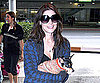 Slide Photo of Ashley Greene Leaving LAX With Marlow