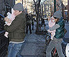 Slide Photo of Sarah Jessica Parker and Matthew Broderick in NYC Holding Tabitha and Marion