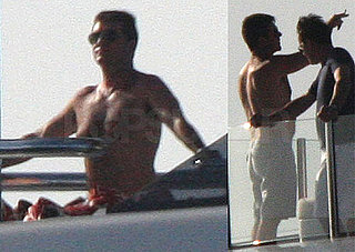 Photos of Simon Cowell Shirtless on Vacation in The Caribbean