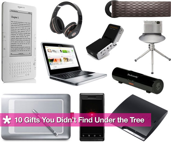 10 Gifts You Didn't Find Under the Tree (but Should Buy Anyway)