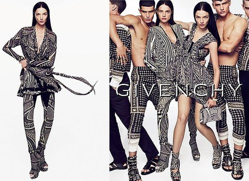 Givenchy Ad Spring 2010 Starring Natalia Vodianova and Mariacarla Boscono