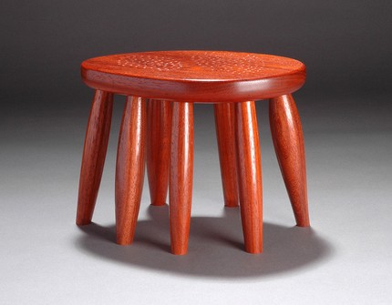 I love the insect-like feel of this multi-legged G.M. Step Stool ($250).