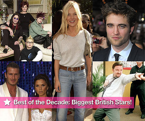 Best of the Decade, Best of the Noughties, Best British Stars of the Decade, Best British Stars of the Noughties