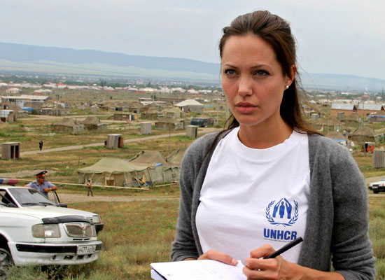 Inspiring Woman of the Decade: Angelina Jolie