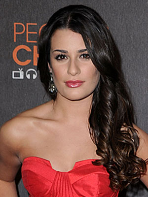 Lea Michele at the 2010 People's Choice Awards