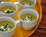 Celery Root and Leek Soup