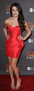 Glee Star Lea Michele at People's Choice