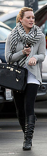 Hilary Duff Carries Hermes Birkin