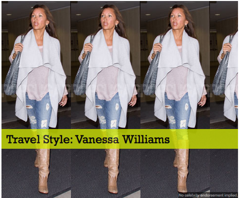 Travel Style: Vanessa Williams
