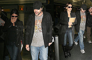 Photos of Penelope Cruz and Javier Bardem at JFK