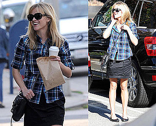 Photos of Reese Witherspoon Walking in LA With a Friend