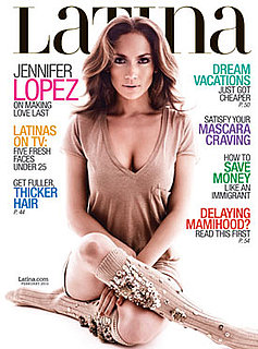 Photos of Jennifer Lopez on the Cover of Latina Magazine 2010-01-05 15:30:19
