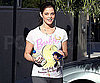 Slide Photo of Ashley Greene Walking in LA