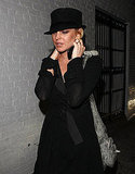 Photos of Lindsay Lohan in a Black Hat