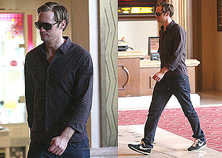 Photos of Alexander Skarsgard Going to the Movies in LA
