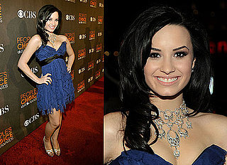 Demi Lovato Wears Jenny Packham at 2010 People's Choice Awards