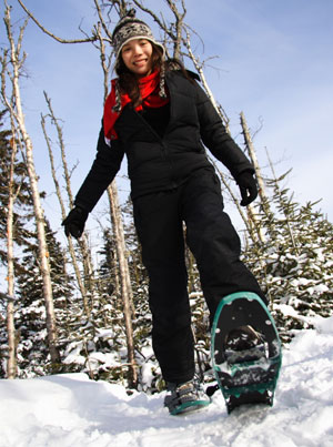 Beginner Snowshoeing Tips