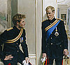 Photos of Prince William and Prince Harry First Ever Painted Double Portrait By Nicky Philipps at National Portrait Gallery