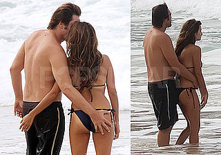 Exclusive Photos of Penelope Cruz and Javier Bardem in Bikinis and Shirtless on Vacation