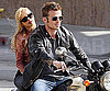 Slide Photo of Cam Gigandet and Christina Aguilera Filming in LA