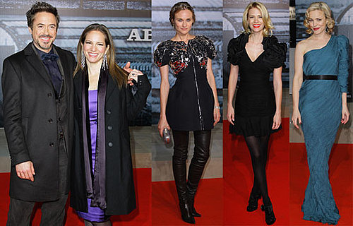Photos of Diane Kruger, Rachel McAdams, January Jones at Sherlock Holmes Red Carpet in Berlin