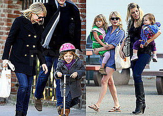 Photos of Michelle Williams and Matilda Ledger on Her Scooter in NYC