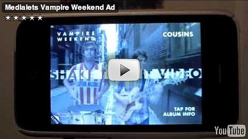 Vampire Weekend Debuts Cool New Ad Inside an iPhone App