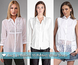 Stylish White Button-Down Shirts
