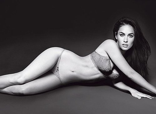 Megan Fox in Emporio Armani Underwear and Armani Jeans Spring 2010 Ads