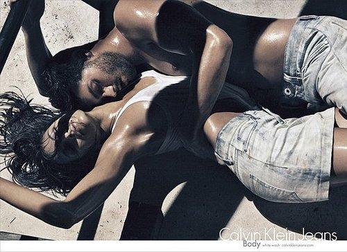 Jamie Dornan and Eva Mendes For Calvin Klein Jeans Spring 2010
