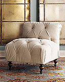 Tufted Velvet Chair - Neiman Marcus