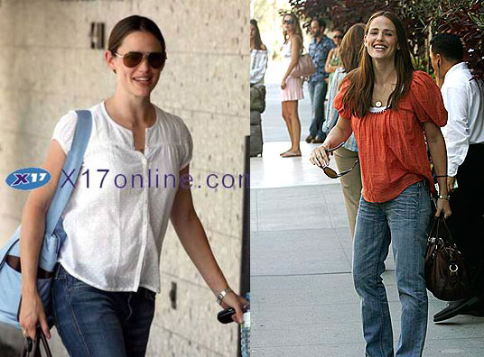 Jennifer Garner Back in LA