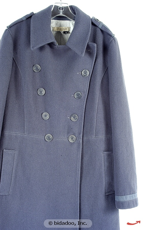 Ebay Find of the Week: See by Chloe Pea Coat