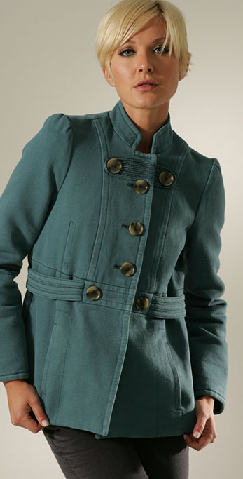Fall Coat Trends: Peacoats