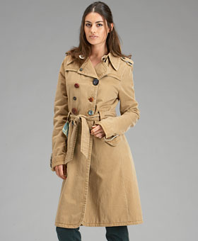 Fall Coat Trends: Trench Coats