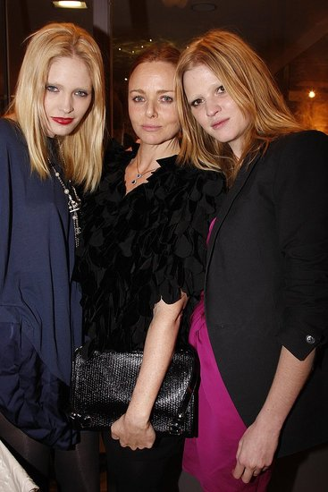 Stella McCartney's Parisian Opening: Models, Jewels, and Some Rolling Paper