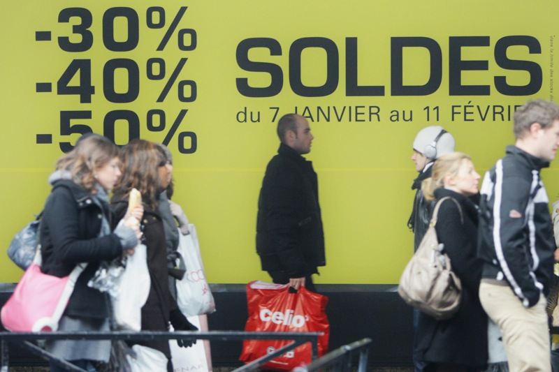 Paris Winter Sales