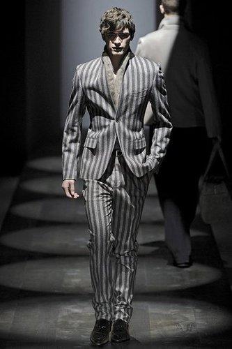 Milan: Salvatore Ferragamo Men's Fall 2009