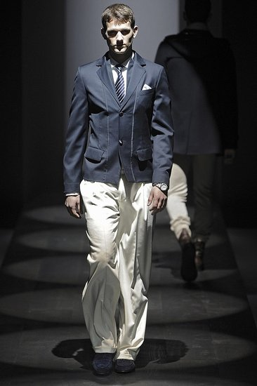 Milan: Salvatore Ferragamo Men's Fall 2009