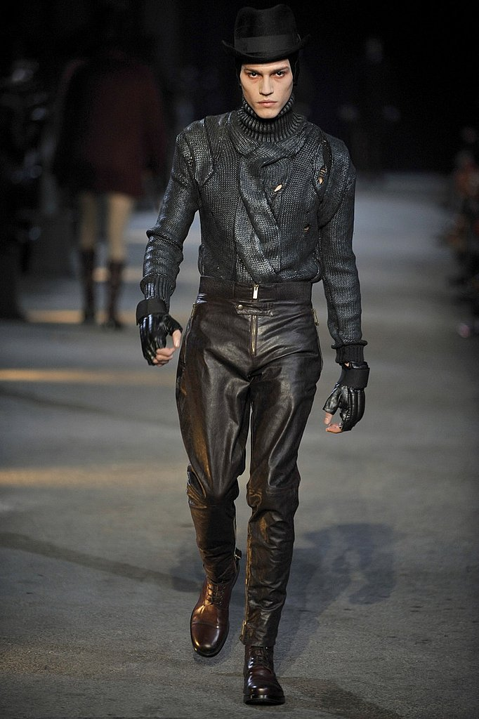 Milan: Alexander McQueen Men's Fall 2009