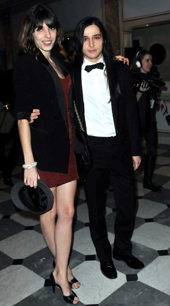 Lou Doillon and Oliver Theyskens