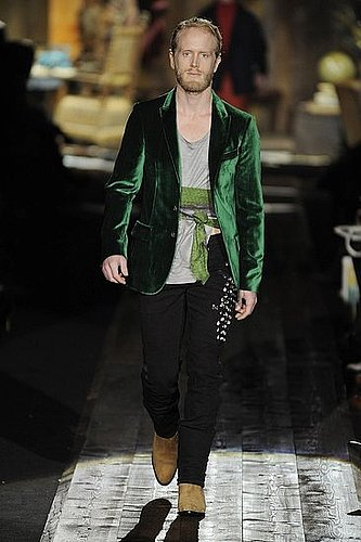 Fall 2009 Men's Trend Report: Rich Velvet