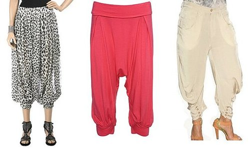 Harem Trousers Get Breezy For Spring