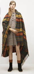 A.P.C. plaid blanket