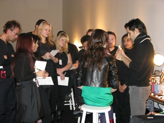 Preen Backstage Mac Makeup Interview